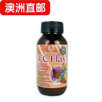 【澳洲直邮】Lifestream/生命泉有机CC Flax女性乳腺宝保养粉200g*2瓶 包邮