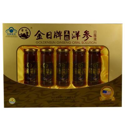 【健保通】金日牌美国洋参口服液 100ml*5瓶