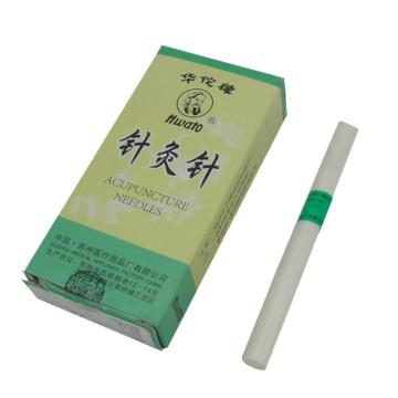 【健保通】华佗牌针灸针(银针) H 13mm-75mm*15支*φ0.35