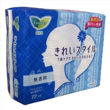 日本花王无香护垫72片 *2包