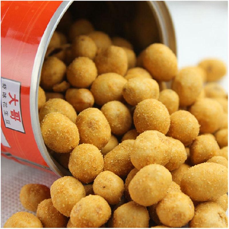 泰国进口零食大哥花生豆虾味230g特产休闲食品x3瓶泰国进口多味花生