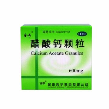 邦宇 醋酸钙颗粒 含糖型 5g(含醋酸钙0.6g)*12包