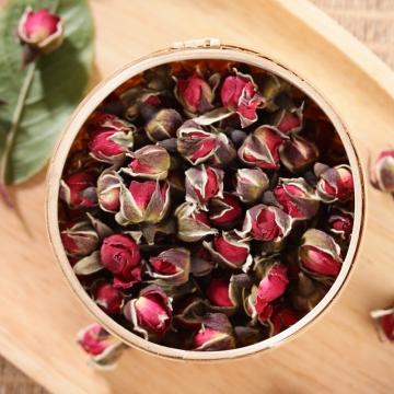 盛世汉方金边玫瑰花茶100g
