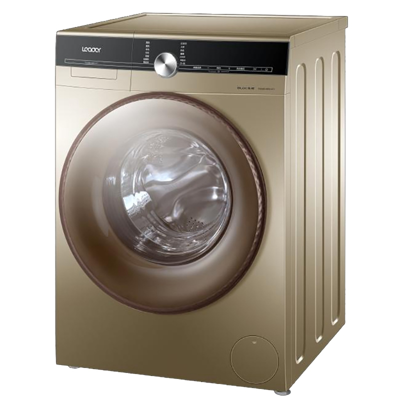 leader/海尔统帅洗衣机tqg100-bkx1271 10公斤宽水压变频滚筒洗衣机