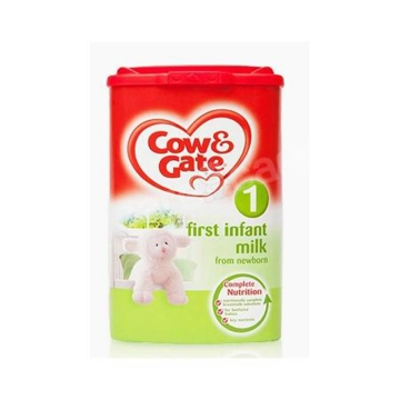 英国Cow&Gate牛栏婴幼儿配方奶粉1段(0-6个月宝宝 900g)*6罐 新旧包装随机发