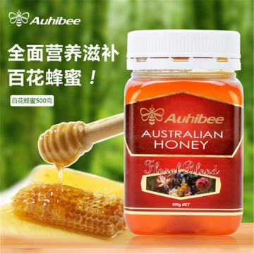 Auhibee Australian honey 百花蜂蜜 500g