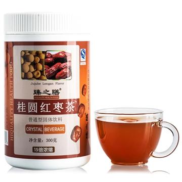 臻之膳桂圆红枣茶 300g/罐