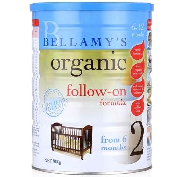 澳洲Bellamys贝拉米有机婴幼儿2段900g*2