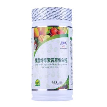康蓓健 果蔬纤维素营养蛋白粉 480g*罐