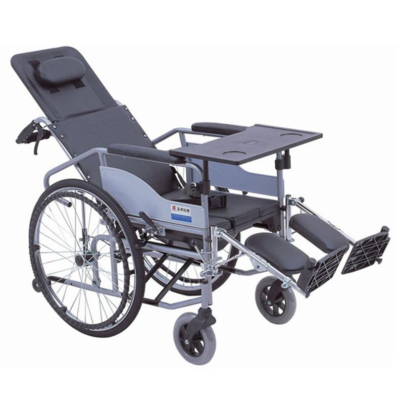 【健保通】互邦钢管手动轮椅车