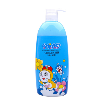 哆啦A梦 牛奶蜂蜜香型儿童洗发沐浴露 720g 滋润肌肤 滋养发丝 温和不刺激