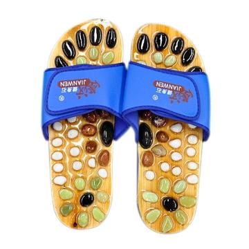 健汶石按摩鞋 42码(卡其色)