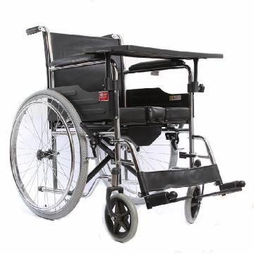 鱼跃手动轮椅车 H005B(冲气式)