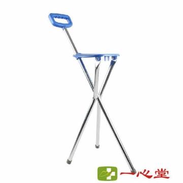 【瀚银通、健保通】鱼跃医疗手杖(三脚平凳式) (54-87cm)YU870