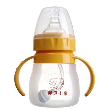 邦贝小象 硅胶宽口奶瓶 新生儿宝宝婴儿奶瓶 防胀气奶瓶 母婴用品