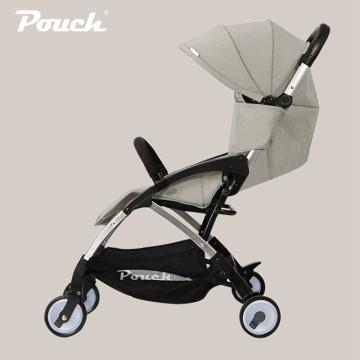 pouch婴儿推车可坐可躺轻便折叠儿童手推车上飞机宝宝