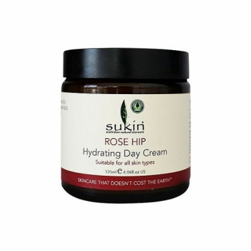 SUKIN玫瑰果油保湿日霜RoseHipHydratingDayCream120ml