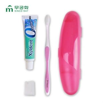包邮 芜琼花 清新牙膏30g+牙刷旅行套装 清新口气 方便携带 环保耐用