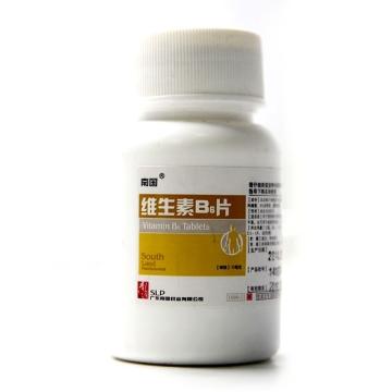南国 维生素B6片 10mg*1000片【Y】