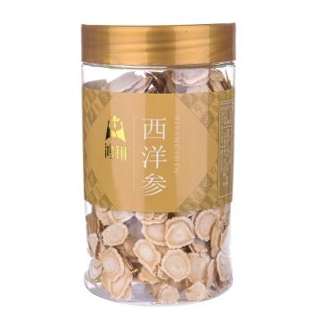 【瀚银通、健保通】西洋参 鸿翔(中片)塑瓶130g 吉林
