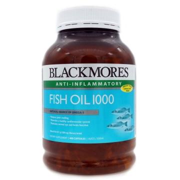 澳洲blackmores 澳佳宝 Fish oil 1000 深海鱼油 400粒/瓶