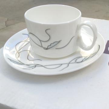 意式咖啡杯 枫叶咖啡杯 骨瓷套装咖啡杯、精美、时尚、经典杯型