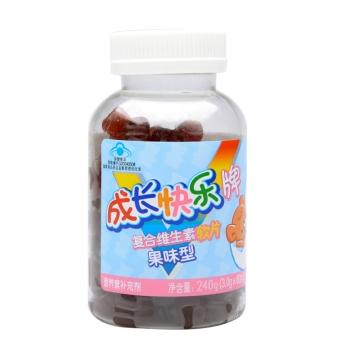 成长快乐复合维生素软片 果味型 3.0g*80片