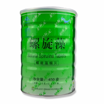 【健保通】星际元螺旋藻片 铁筒装 450g 900片