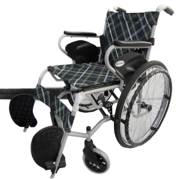 【瀚银通、健保通】互邦钢管手动轮椅车 HBG26