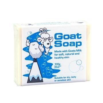 【海外直采 国内现货】Goat Soap原味羊奶皂 沐浴保湿洁面  100g