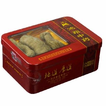 【健保通】鸿翔 天麻 原皮特级红铁盒(长形)200g 云南