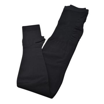 迈兹 静脉曲张袜 露趾二级压力 黑色