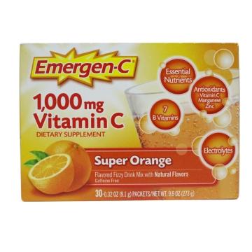 EMC 成人鲜橙味泡腾冲剂 30包