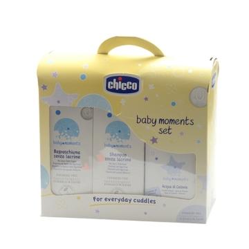 现货意大利进口chicco智高婴儿洗护沐浴套装宝宝洗发露沐浴露香水 包邮 500ml