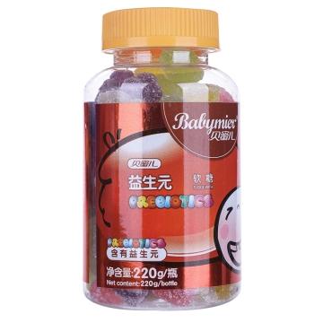 【瀚银通、健保通】贝蜜儿益生元软糖 220g