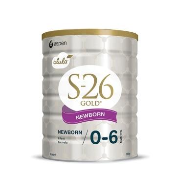 【澳洲直邮】惠氏金装S26婴幼儿奶粉1段 0-6个月 900g*3罐 包邮