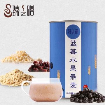 臻之膳 蓝莓水果燕麦 400克/罐