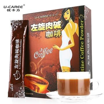 优卡力左旋肉碱咖啡固体饮料
