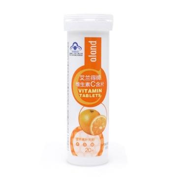 【健保通】艾兰得 维生素C含片 桔子口味 0.65g*30片
