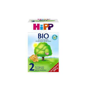 德国喜宝Hipp Bio有机奶粉2段(6-10个月宝宝) 800g*2