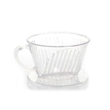 普通梯形滤杯 简式塑料滤杯 咖啡器具-滤器 手冲咖啡过滤器